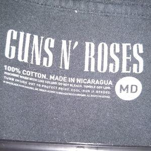 Guns N Roses Shirts - GUNS N ROSES T-SHIRT 👕 APPETITE FOR DESTRUCTION M